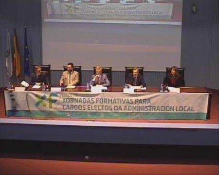 Inauguración do Ciclo de Xornadas Formativas para Cargos Electos da Admón Local
